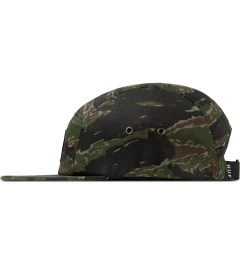HUF Olive Camo Volley Cap Model Picutre