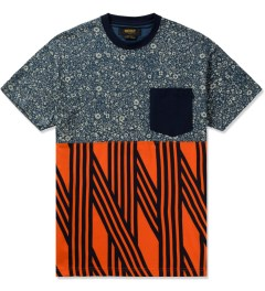 10.Deep Dark Blue Chaos Pocket T-Shirt Picutre