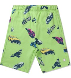 Billionaire Boys Club Paradise Green Car Clash Shorts Picutre