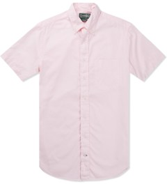 Gitman Bros. Vintage Pink Summer Oxford S/S Shirt Picutre