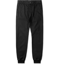 ZANEROBE Black Coated Dynamo Denim Pants Picutre