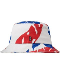 HUF White Copacabana Bucket Hat Model Picutre
