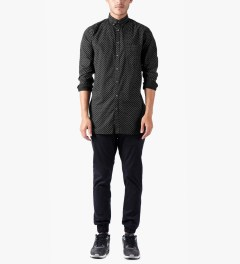 ZANEROBE Black Eight Foot L/S Shirt Model Picutre