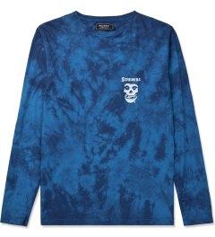 Grand Scheme Tie-dye Blue 420 LS T-Shirt Picutre