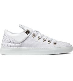 Filling Pieces White Mountain Cut Python Shoes Picutre