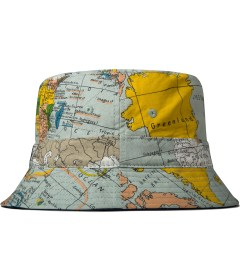 10.Deep Multicolor Thompson Maps Bucket Hat Model Picutre
