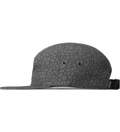 HUF Grey Quake Volley 5-Panel Cap Model Picutre