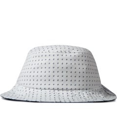 Raised by Wolves White Morocco Blues Gatineau Bucket Hat Picutre