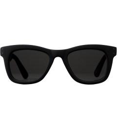 KOMONO Black Rubber Allen CZ Sunglasses Picutre