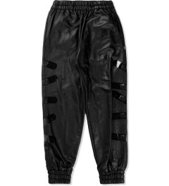 KYE Black Band Aid Motif Sweat Pant Picutre