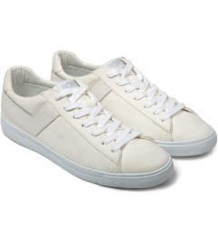 PONY White Topstar Canvas Ox Sneakers Model Picutre