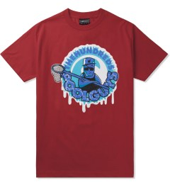 The Hundreds Red Pool Guys T-Shirt Picutre