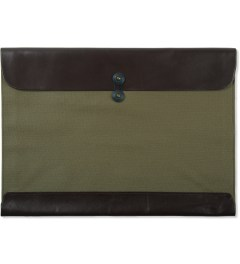 POSTALCO Olive Green Legal Envelope Picutre