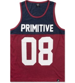 Primitive Red Heather Division Tank Top Picutre