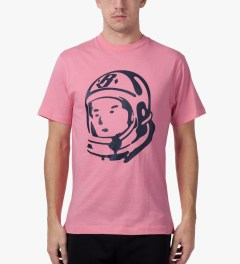 Billionaire Boys Club Bubblegum Pink/Peacoat S/S Helmet T-Shirt Model Picutre