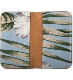 Penfield Blue Palm Print Souris Card Holder Model Picutre