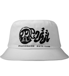 Billionaire Boys Club White Skoloct OG Logo Bucket Hat Picutre