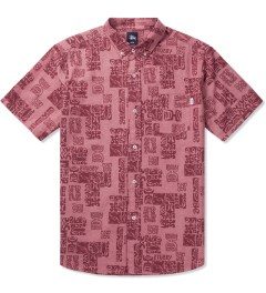 Stussy Red Bula Shirt Picutre