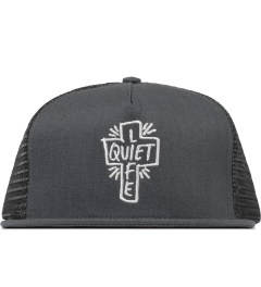 The Quiet Life Heather Grey Sharpie Trucker Cap Picutre
