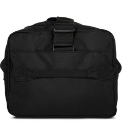 DSPTCH Black Weekender Duffle Bag Model Picutre