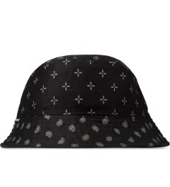 Grand Scheme Black Bandana Bucket Hat Picutre