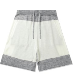 Hall of Fame Heather Grey/Oatmeal 4 Points Shorts Picutre