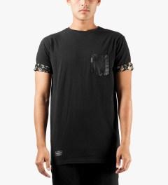 Grand Scheme Black Edinborough T-Shirt Model Picutre