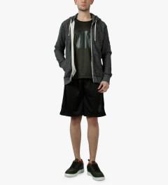 Undefeated Black Strike Basketball Shorts Model Picutre