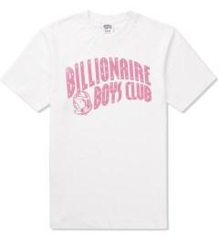 Billionaire Boys Club White/Bubblegum Pink S/S Classic Arch Logo T-Shirt Picutre