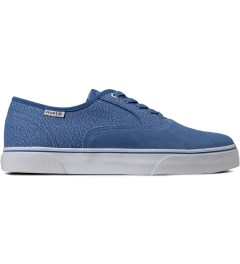 HUF Blue Memphis Suede Canvas Mateo Shoes Picutre