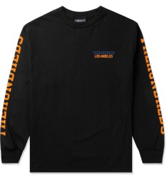 The Hundreds Black Sunnyside L/S T-Shirt Picutre