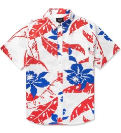 HUF White Copacabana S/S Woven Shirt Picutre