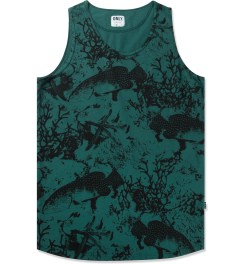 ONLY Dark Sea Green Under The Sea Tank Top Picutre