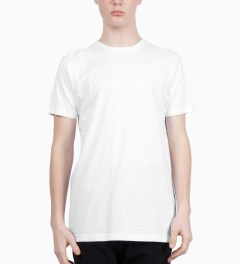 "Stampd White Stampd ""00"" T-Shirt Model Picutre"