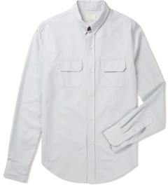 Band of Outsiders White L/S Work Shirt Picutre