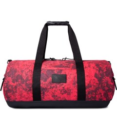 SATURDAYS Surf NYC Red Mineral Print Ruba Duffle Bag Picutre