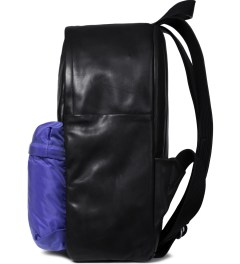 SILENT Damir Doma Vintage Black/Blue Bay Backpack Model Picutre