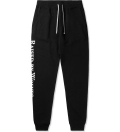 Raised by Wolves Black Logotype Sweatpants Picutre