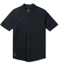 10.Deep Navy Blue Diamond Baseball Jersey Picutre