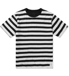 Head Porter Plus Black Reversible Border T-Shirt Picutre
