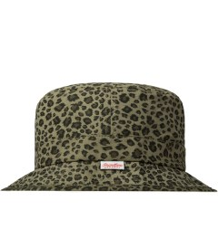 Primitive Cheetah Bucket Hat Model Picutre