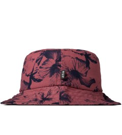 HUF Salmon Floral Bucket Hat Model Picutre