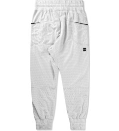 Thing Thing White Ronin Trackie Mesh Pants Model Picutre