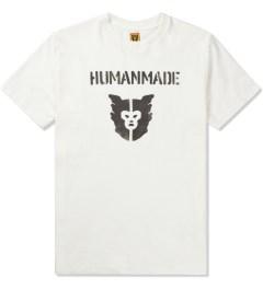 Human Made White Logo T-Shirt Picutre