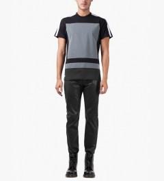 Surface to Air Black Regular Denim Jeans Model Picutre