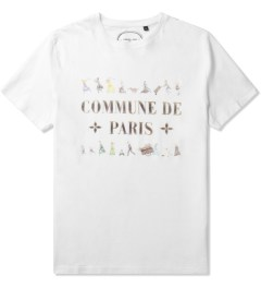 Commune De Paris White Fuite T-Shirt Picutre