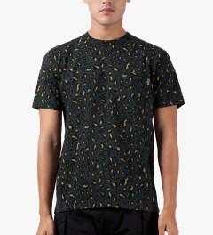 Carhartt WORK IN PROGRESS Leopard Print/Marlin S/S Pocket T-Shirt Model Picutre