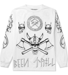 BEENTRILL White Viking L/S T-Shirt Picutre