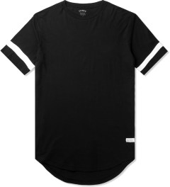 Stampd Black Elongated LA T-Shirt Picutre