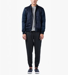 Publish Navy Bruswick Jogger Pants Model Picutre